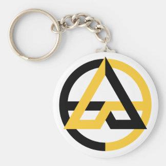 Voluntaryist Basic Button Keychain