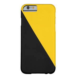 Voluntaryist Black and Yellow Phone Case