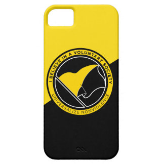 Voluntaryist iPhone 5 Case-Mate ID Case