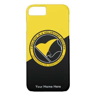 Voluntaryist iPhone 7 Case