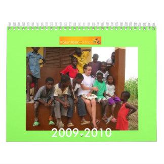 Volunteer Africa Wall Calendar