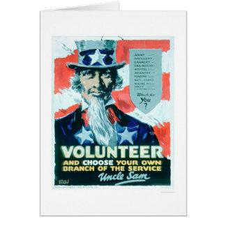 Volunteer and Choose your Branch (US02082) Card