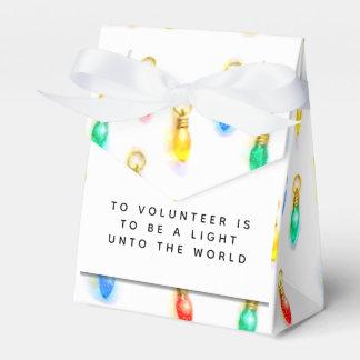 Volunteer Appreciation Favour Box