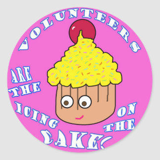 VOLUNTEER APPRECIATION Sticker