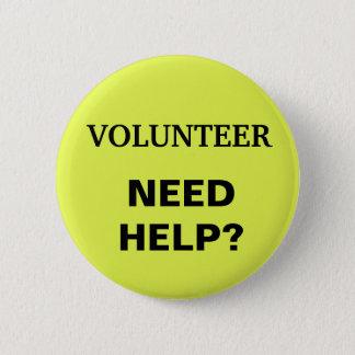 "Volunteer Button ""Need Help?"""