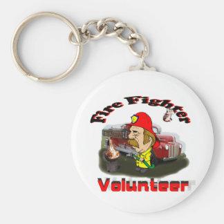 Volunteer Fire Fighters Key Ring