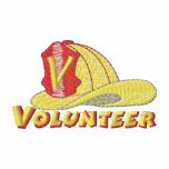 Volunteer Firefighter Logo Embroidered Hoody