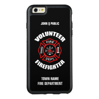 Volunteer Firefighter Name Template OtterBox iPhone 6/6s Plus Case