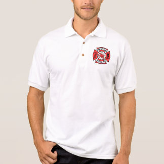 Volunteer Firefighter Polo Shirt