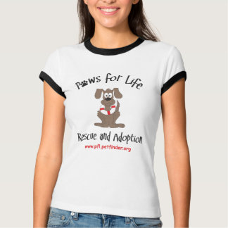 Volunteer Paws for Life Logo T-Shirt
