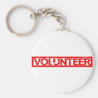 Volunteer Stamp Key Ring