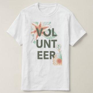 volunteer vintage floral T-Shirt
