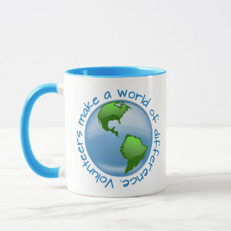 Volunteers Make a World of Difference Mug