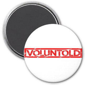Voluntold Stamp Magnet