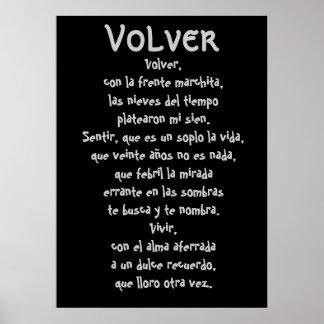 Volver Lyrics Print