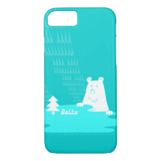 Vom Wald of Bär of der of main ku ma of lake and iPhone 8/7 Case