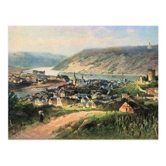 Von Astudin, Bingen am Rhein Postcard