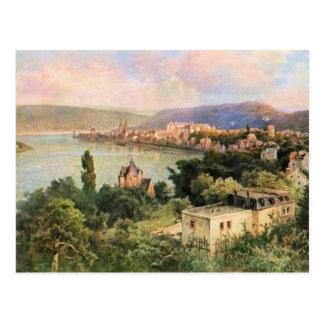 Von Astudin, Boppard am Rhein Postcard