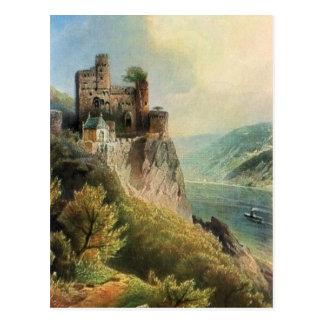 Von Astudin, Burg Rheinstein Postcard