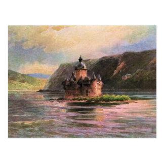 Von Astudin, Die Pfalz am Rhein Postcard