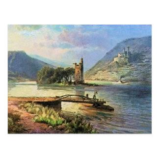 Von Astudin, Maeuseturm, Ehrenfels Postcard