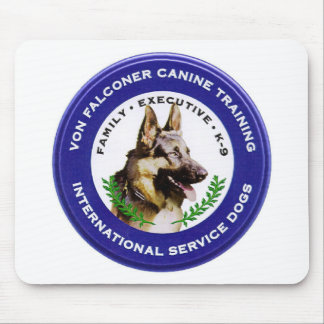 Von Falconer Canine Mouse Pad