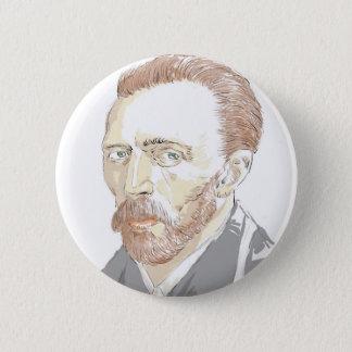 Von Gogh 6 Cm Round Badge