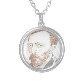 Von Gogh Silver Plated Necklace