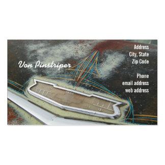 Von Pinstriper Pack Of Standard Business Cards