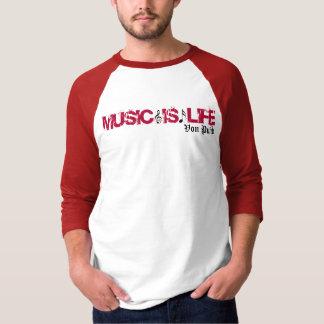 Von Punk men's 3/4 length sleeve. T-Shirt