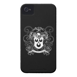 Voodoo Art Black and White iPhone 4 Case-Mate Cases