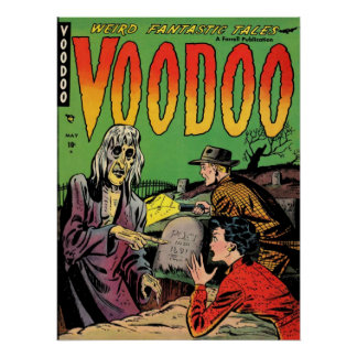 VOODOO Comics Comic Book Poster