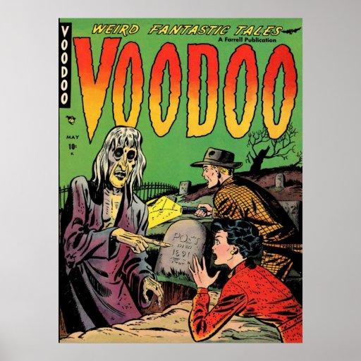 VOODOO Comics Comic Book Poster