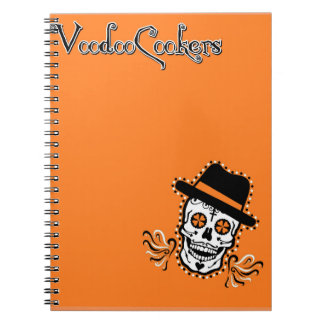 VooDoo Cookers Notebook (80 Pages B&W)
