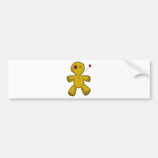 Voodoo Doll Bumper Sticker