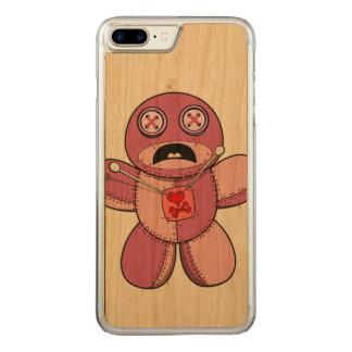 Voodoo Doll Carved iPhone 7 Plus Case