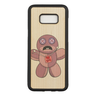 Voodoo Doll Carved Samsung Galaxy S8+ Case