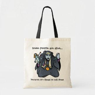 Voodoo Doll Humor Budget Tote Bag