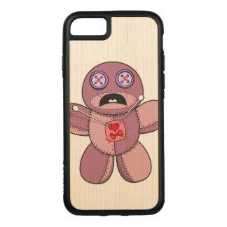 Voodoo Doll Illustration Carved iPhone 8/7 Case
