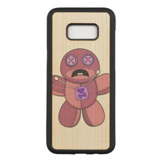 Voodoo Doll Illustration Carved Samsung Galaxy S8+ Case