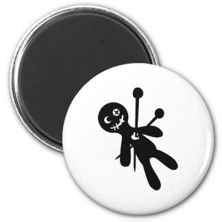 Voodoo doll refrigerator magnet