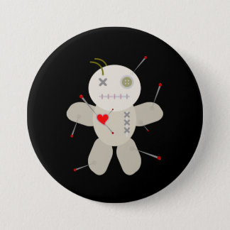 Voodoo Doll Valentine's Day Cartoon 7.5 Cm Round Badge