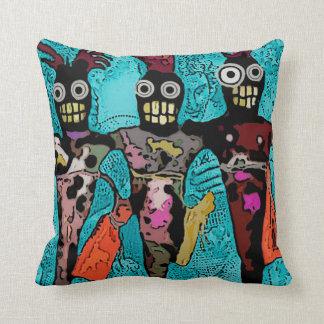 Voodoo Dolls Art Pillow