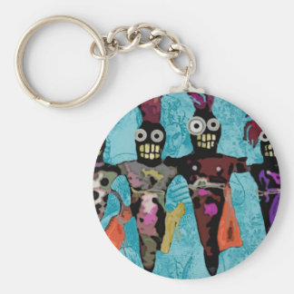 Voodoo Dolls Basic Round Button Key Ring
