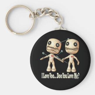 VooDoo Dolls Basic Round Button Key Ring
