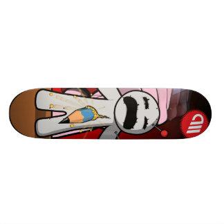 Voodoo dying dolls series - Pierced! 21.6 Cm Old School Skateboard Deck