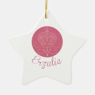 Voodoo Erzulie Ceramic Star Decoration