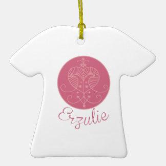Voodoo Erzulie Ceramic T-Shirt Ornament