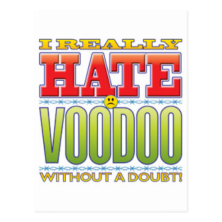 Voodoo Hate Face Postcards
