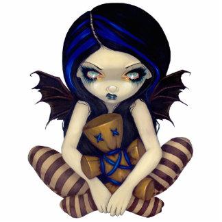 Voodoo In Blue gothic fairy photo sculpture